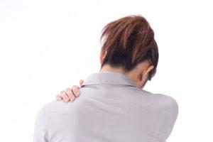 肩こりのイメージ写真
